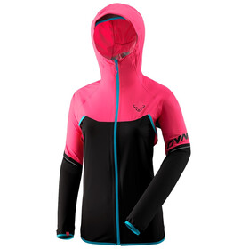 Dynafit Alpine Wind 2 Jacket Women, fluo pink